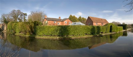 flooded homes - Houses next to canal or river. Stock Photo - Budget Royalty-Free & Subscription, Code: 400-05037437