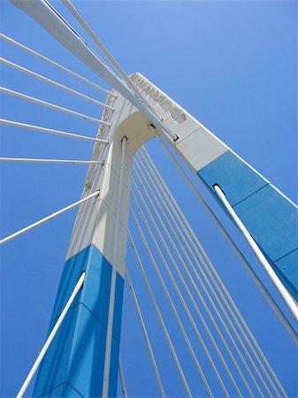 puentes - blue bridge in marbella spain Stock Photo - Budget Royalty-Free & Subscription, Code: 400-05041216