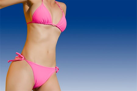 female crotch - Sexy and fit woman in bright bikini Stock Photo - Budget Royalty-Free & Subscription, Code: 400-05079288