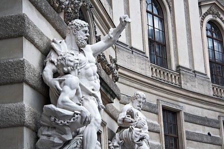 franxyz - Hercules statue at the Royal Palace Hofburg,Vienna, Austria Stock Photo - Budget Royalty-Free & Subscription, Code: 400-05085770