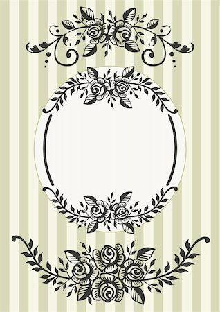 Ornamental elements. File contains hi res jpeg. Stock Photo - Budget Royalty-Free & Subscription, Code: 400-05088798