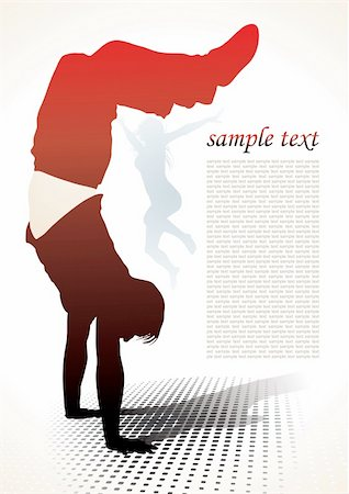 simsearch:400-04222950,k - active people silhouettes background - vector illustration Stock Photo - Budget Royalty-Free & Subscription, Code: 400-05094234