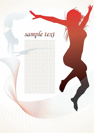 simsearch:400-04222950,k - active people silhouettes background - vector illustration Stock Photo - Budget Royalty-Free & Subscription, Code: 400-05094233