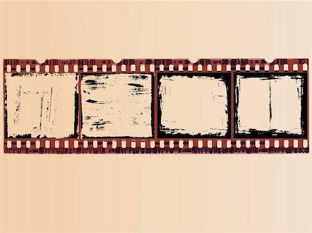 pokerman (artist) - 4 Grunge Film Cells Stock Photo - Budget Royalty-Free & Subscription, Code: 400-05108339