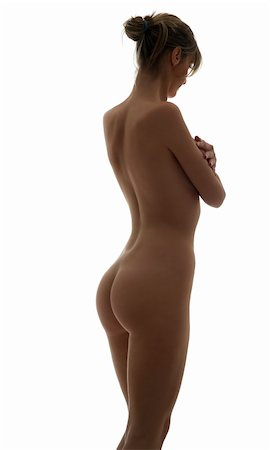 beauty portrait of a young naked woman with great body Stock Photo - Budget Royalty-Free & Subscription, Code: 400-05101669