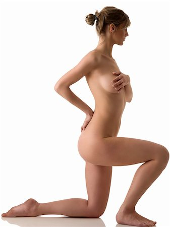 beauty portrait of a young naked woman with great body Stock Photo - Budget Royalty-Free & Subscription, Code: 400-05101671