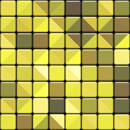 simsearch:400-04476890,k - seamlees 3d texture of yellow tiles with square motive Stock Photo - Budget Royalty-Free & Subscription, Code: 400-05127638