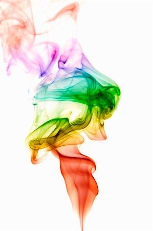 rainbow smoke background - Rainbow Smoke Stock Photo - Budget Royalty-Free & Subscription, Code: 400-05121760