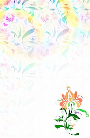 simsearch:400-04765926,k - Floral background Stock Photo - Budget Royalty-Free & Subscription, Code: 400-05123588