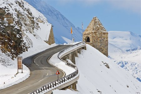Monument in the Grossglockner high alpine road, National Park Hohe Tauern, Austria Stock Photo - Budget Royalty-Free & Subscription, Code: 400-05135310