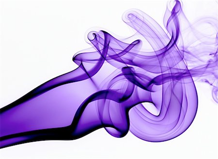 Purple waves of abstract Smoke Stock Photo - Budget Royalty-Free & Subscription, Code: 400-05147207