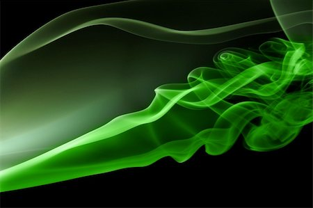 Random swirls of colored smoke Stock Photo - Budget Royalty-Free & Subscription, Code: 400-05147208