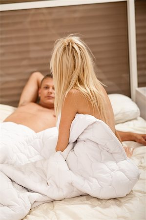 couple talking after sex Stock Photo - Budget Royalty-Free & Subscription, Code: 400-05158736