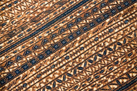 Detail of a batik design from Indonesia Stock Photo - Budget Royalty-Free & Subscription, Code: 400-05158971