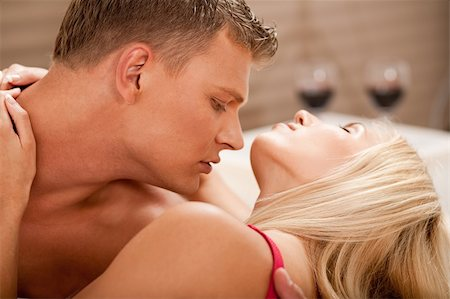 Couple foreplay Stock Photo - Budget Royalty-Free & Subscription, Code: 400-05152477