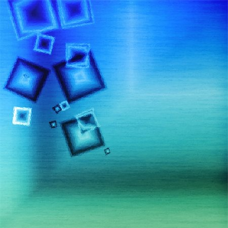 silver box - Blue glass squares cubic abstract background bar Stock Photo - Budget Royalty-Free & Subscription, Code: 400-05166053