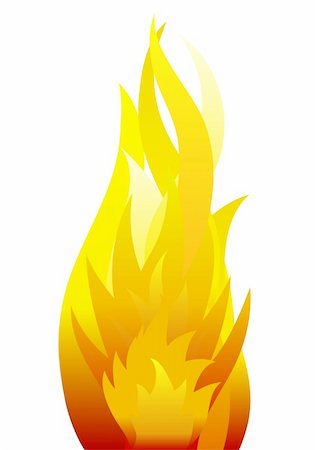 Inferno fire vector background for design use Stock Photo - Budget Royalty-Free & Subscription, Code: 400-05167789