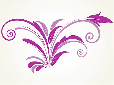 background with purple filigree pattern, illustration Stock Photo - Budget Royalty-Free & Subscription, Code: 400-05168070
