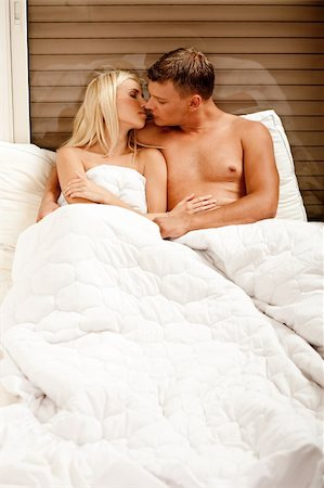 Hot couple in bed Stock Photo - Budget Royalty-Free & Subscription, Code: 400-05174672