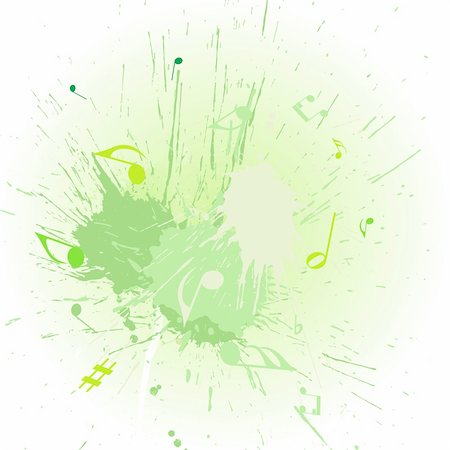 simsearch:400-04676325,k - Vector musical notes staff background for design use Stock Photo - Budget Royalty-Free & Subscription, Code: 400-05175796