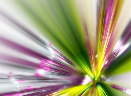 An illustration of a nice abstract fractal explosion Stock Photo - Budget Royalty-Free & Subscription, Code: 400-05177830