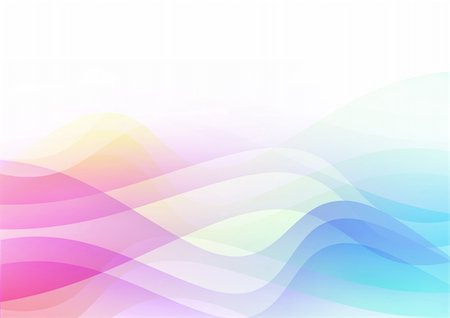 Bright colour back background from colour wavy lines Stock Photo - Budget Royalty-Free & Subscription, Code: 400-05179757