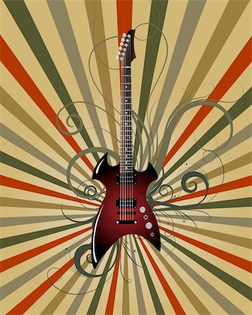 simsearch:400-04676325,k - Vector musical grunge background for design use Stock Photo - Budget Royalty-Free & Subscription, Code: 400-05173698