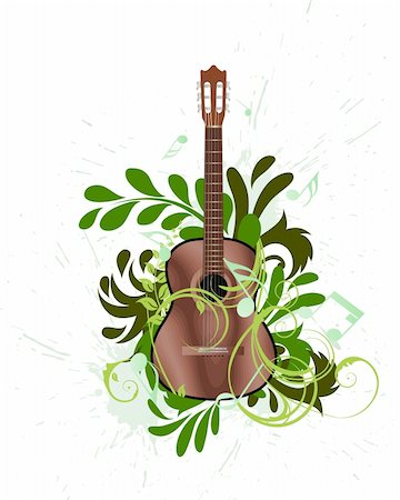 simsearch:400-04676325,k - Vector musical grunge background for design use Stock Photo - Budget Royalty-Free & Subscription, Code: 400-05173699