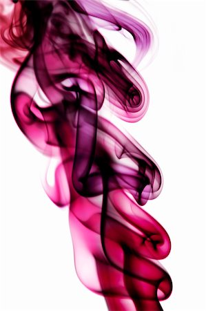 rainbow smoke background - colored smoke isolated  on a white background Stock Photo - Budget Royalty-Free & Subscription, Code: 400-05189121