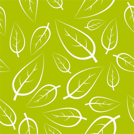 simsearch:400-04765926,k - Fresh green leafs texture - seamless pattern Stock Photo - Budget Royalty-Free & Subscription, Code: 400-05194690