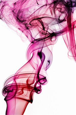 rainbow smoke background - colored smoke isolated  on a white background Stock Photo - Budget Royalty-Free & Subscription, Code: 400-05196419