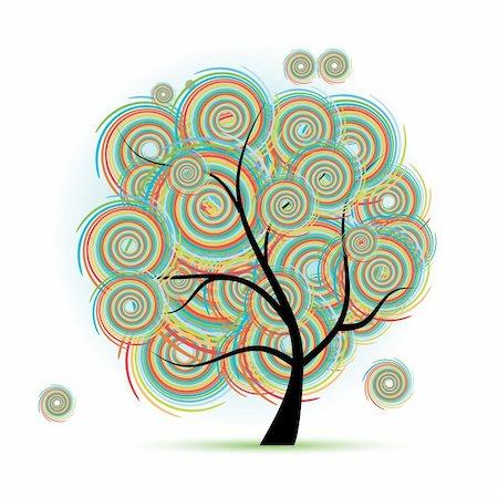 Art tree fantasy Stock Photo - Budget Royalty-Free & Subscription, Code: 400-05198080