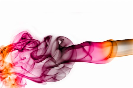 rainbow smoke background - colored smoke isolated  on a white background Stock Photo - Budget Royalty-Free & Subscription, Code: 400-05191083