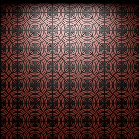 simsearch:400-05245734,k - illuminated tile wall made in 3D graphics Stock Photo - Budget Royalty-Free & Subscription, Code: 400-05216504