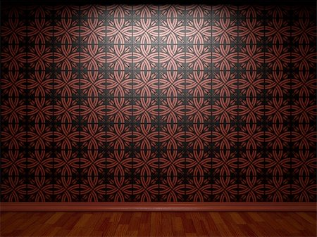 simsearch:400-05245734,k - illuminated tile wall made in 3D graphics Stock Photo - Budget Royalty-Free & Subscription, Code: 400-05216505
