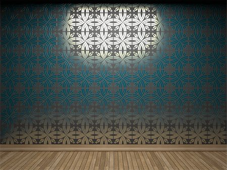 simsearch:400-05245734,k - illuminated tile wall made in 3D graphics Stock Photo - Budget Royalty-Free & Subscription, Code: 400-05216507
