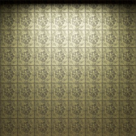 simsearch:400-05245734,k - illuminated tile wall made in 3D graphics Stock Photo - Budget Royalty-Free & Subscription, Code: 400-05216501