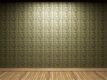 simsearch:400-05245734,k - illuminated tile wall made in 3D graphics Stock Photo - Budget Royalty-Free & Subscription, Code: 400-05216502