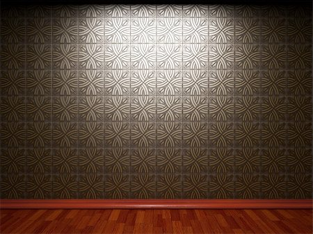 simsearch:400-05245734,k - illuminated tile wall made in 3D graphics Stock Photo - Budget Royalty-Free & Subscription, Code: 400-05216503