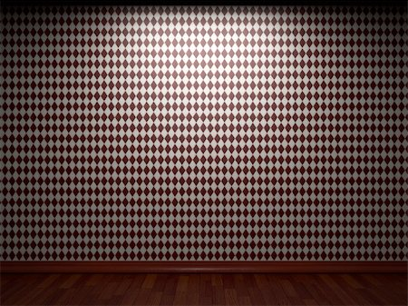 simsearch:400-05245734,k - illuminated tile wall made in 3D graphics Stock Photo - Budget Royalty-Free & Subscription, Code: 400-05216514