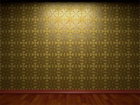 simsearch:400-05245734,k - illuminated tile wall made in 3D graphics Stock Photo - Budget Royalty-Free & Subscription, Code: 400-05216511