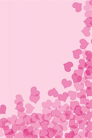 simsearch:400-04597082,k - pink hearts drawn on a pink background Stock Photo - Budget Royalty-Free & Subscription, Code: 400-05218385