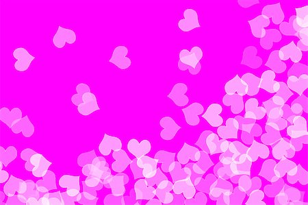 simsearch:400-04597082,k - several hearts drawn on a purple background Stock Photo - Budget Royalty-Free & Subscription, Code: 400-05224626