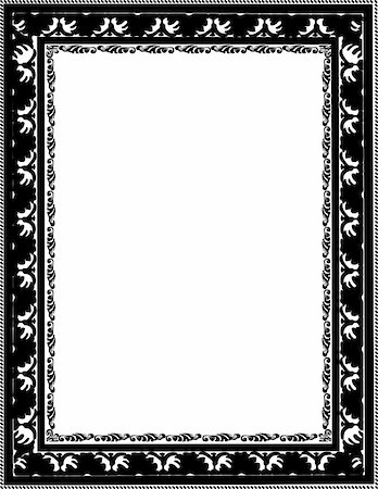 simsearch:400-04872199,k - vintage frame made in vector Stock Photo - Budget Royalty-Free & Subscription, Code: 400-05228964