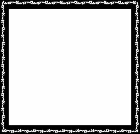 simsearch:400-04872199,k - vintage frame made in vector Stock Photo - Budget Royalty-Free & Subscription, Code: 400-05228965