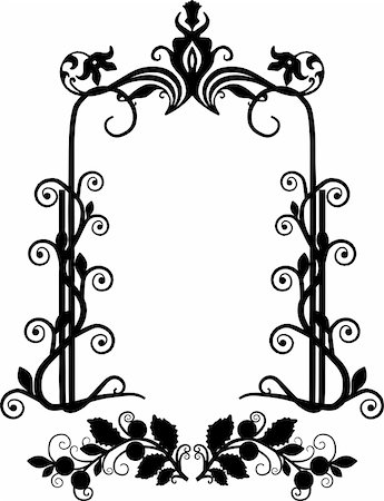 simsearch:400-04872199,k - vintage frame made in vector Stock Photo - Budget Royalty-Free & Subscription, Code: 400-05228968