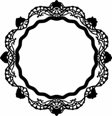 simsearch:400-04872199,k - vintage frame made in vector Stock Photo - Budget Royalty-Free & Subscription, Code: 400-05228976