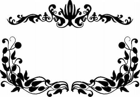 simsearch:400-04872199,k - vintage frame made in vector Stock Photo - Budget Royalty-Free & Subscription, Code: 400-05228973