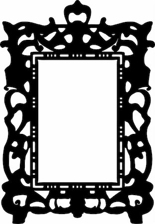 simsearch:400-04872199,k - vintage frame made in vector Stock Photo - Budget Royalty-Free & Subscription, Code: 400-05228984