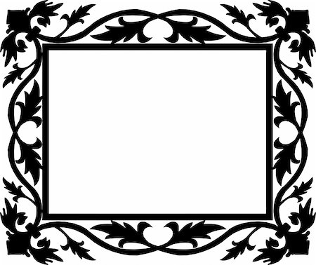 simsearch:400-04872199,k - vintage frame made in vector Stock Photo - Budget Royalty-Free & Subscription, Code: 400-05228985
